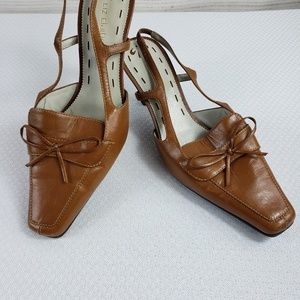 Liz Claiborne Leather Denton  Slingback size 7M
